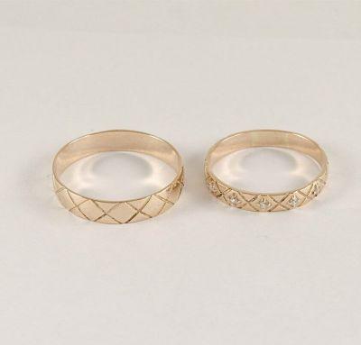 Обручальные кольца панцирь