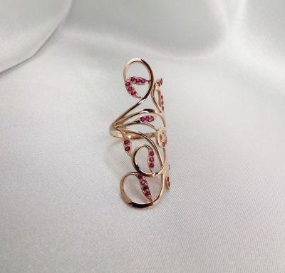 Женское кольцо роскошь
