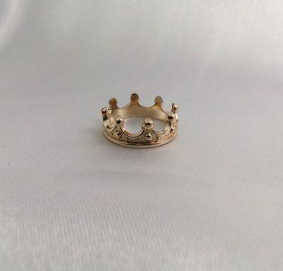 Кольцо корона маленькая