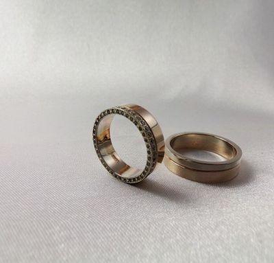 Эксклюзивные обручальные кольца из золота