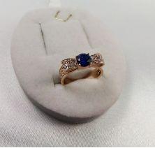 Женское кольцо бантик