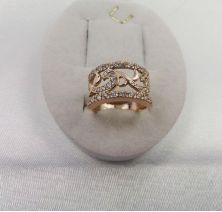 Женское кольцо узор