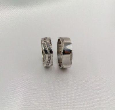 Свадебные классические кольца