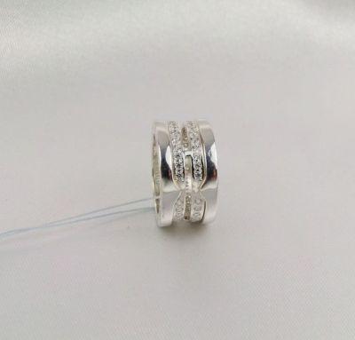 Кольцо Bvlgari из серебра