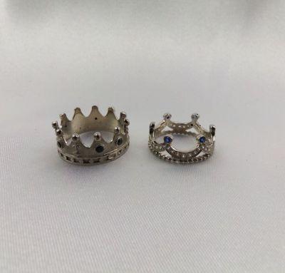 Свадебные кольца в виде корон