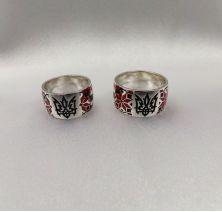 Обручальные кольца вышиванки