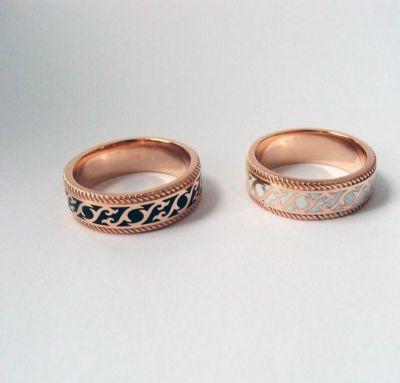 Обручальные кольца шик