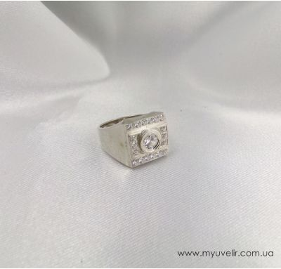 Серебряная печатка мужская
