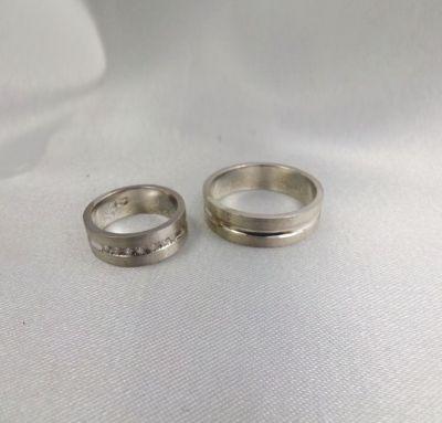 Свадебные кольца серебрняые
