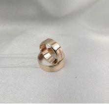 Золотые свадебные кольца
