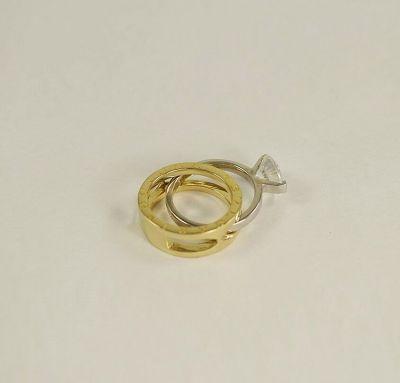 Кольцо Bvlgari двойное