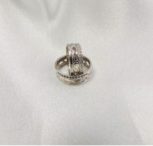 Свадебные колечки узорные