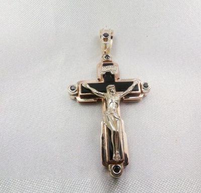 Крест большой с ониксом