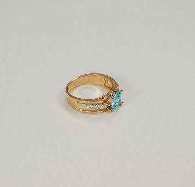 Золотое кольцо шик