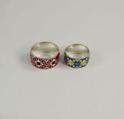 Обручальные кольца вышивка