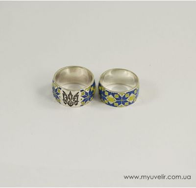 Свадебные кольца вышивка
