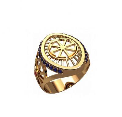 Кольцо оберег колядник
