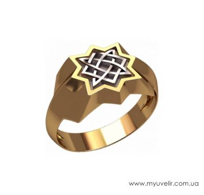 Кольцо звезда руси