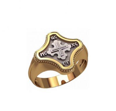 Кольцо в виде креста