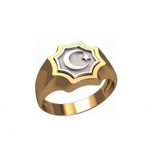 Кольцо мусульманский полумесяц