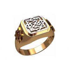 Мужское кольцо валькирия
