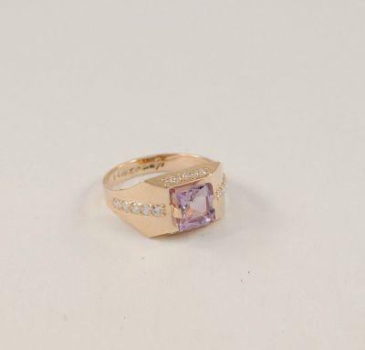 Мужское кольцо стильное
