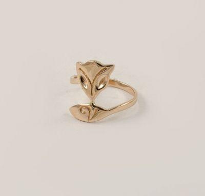 Кольцо в виде лисы