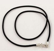 Шелковый шнурок на шею