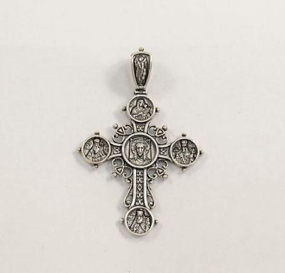 Крест с иконами