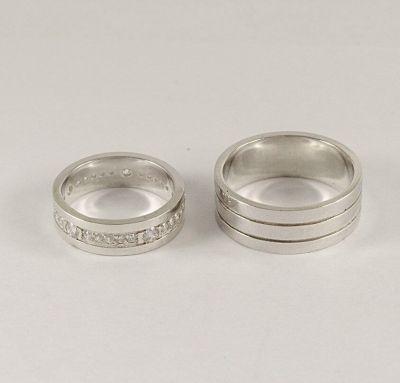 Кольца свадебные классические