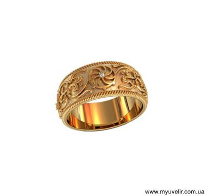 Обручальные кольца модные