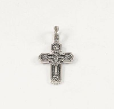 Крестик нательный православный