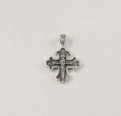 Крестик на шею серебро