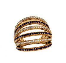 Женское широкое кольцо