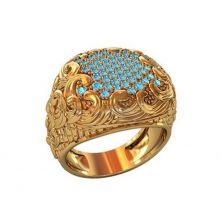 Женское кольцо шикарное