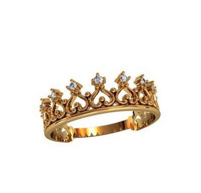 Корона серебро