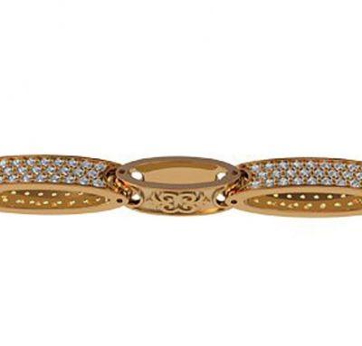 Женский браслет золото