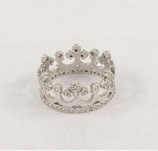 Корона серебряная