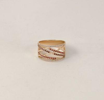 Широкое кольцо из золота