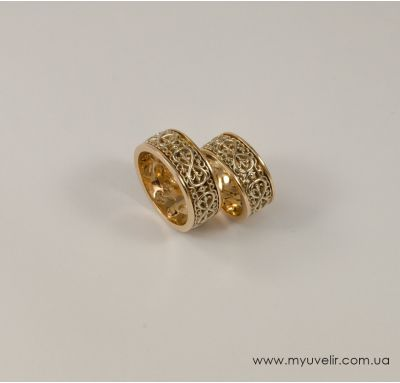 Обручальные кольца восьмерки