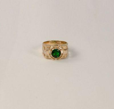 Модное кольцо мужское