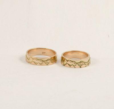 Обручальные кольца горы
