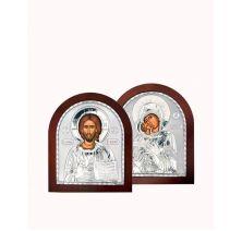 Венчальная пара Спаситель и Богородица 2