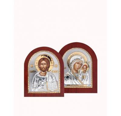 Венчальная пара Спаситель и Богородица 3