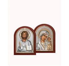 Венчальная пара Спаситель и Богородица 6
