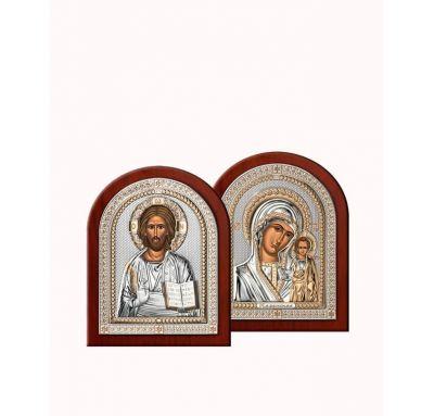 Венчальная пара Спаситель и Богородица 7