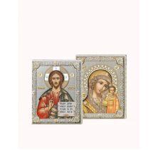 Венчальная пара Спаситель и Богородица 8