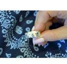 Обручальные кольца в виде вышиванки