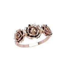 Кольца в виде розы