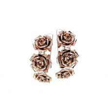 Сережки роза